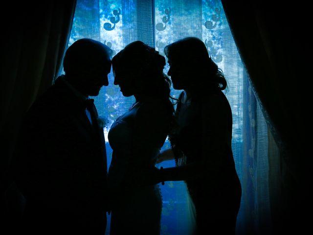 Il matrimonio di Giovanni e Carmen a Lettere, Napoli 1