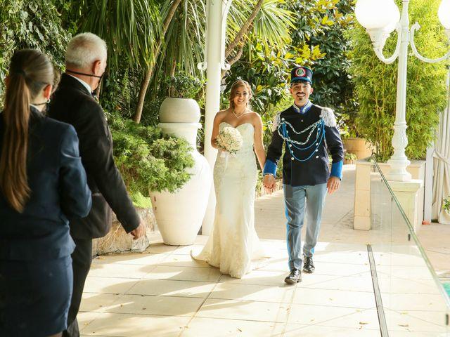 Il matrimonio di Giovanni e Carmen a Lettere, Napoli 8