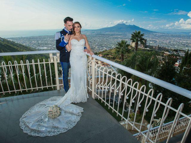 Il matrimonio di Giovanni e Carmen a Lettere, Napoli 15