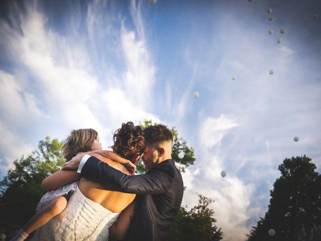 Il matrimonio di Silvio e Giada a Erve, Lecco 2