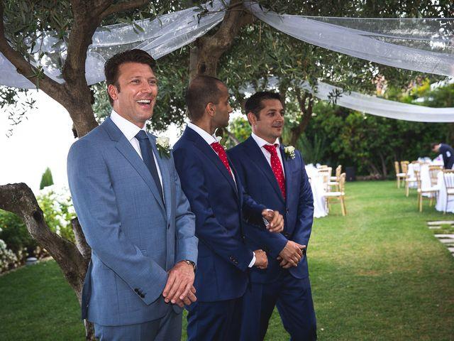 Il matrimonio di Jean Paul e Daisy a Ravello, Salerno 18