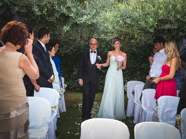 Il matrimonio di Jean Paul e Daisy a Ravello, Salerno 19