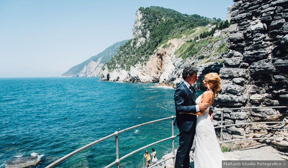 Il matrimonio di Ennio e Verusca a Portovenere, La Spezia