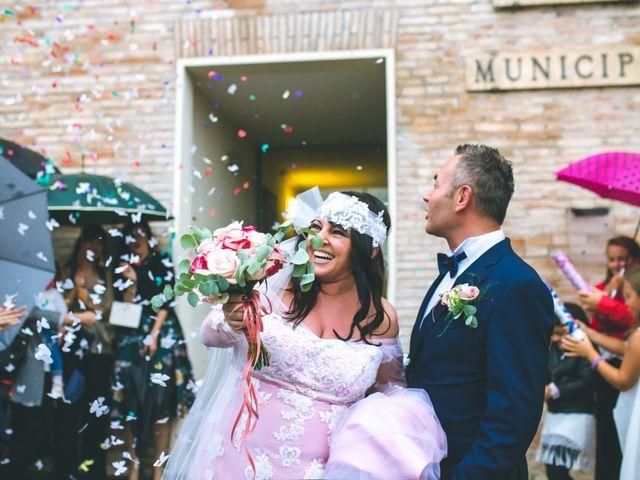 Il matrimonio di Claudio e Romina a Fano, Pesaro - Urbino 47