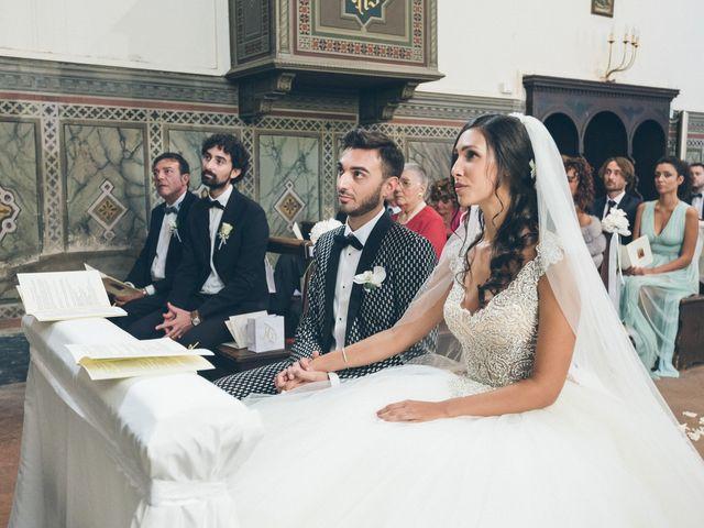 Il matrimonio di Davide e Naima a Bibbona, Livorno 19