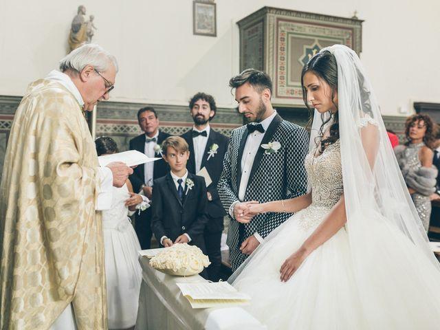 Il matrimonio di Davide e Naima a Bibbona, Livorno 21