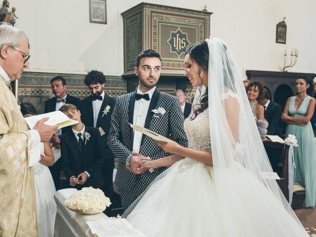 Il matrimonio di Davide e Naima a Bibbona, Livorno 23