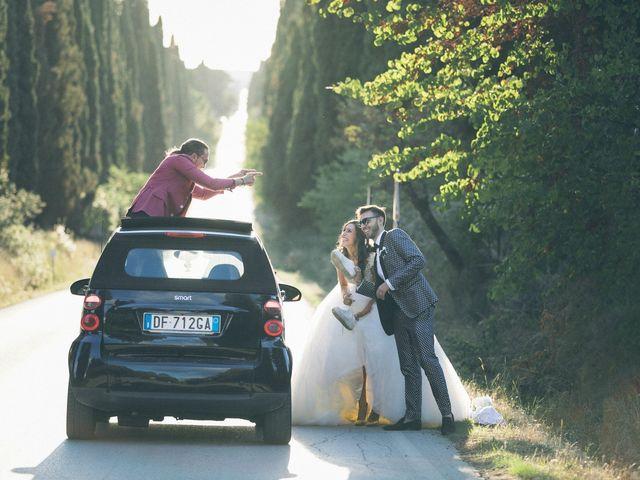 Il matrimonio di Davide e Naima a Bibbona, Livorno 35