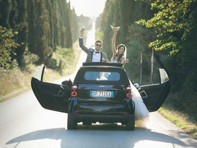 Il matrimonio di Davide e Naima a Bibbona, Livorno 36