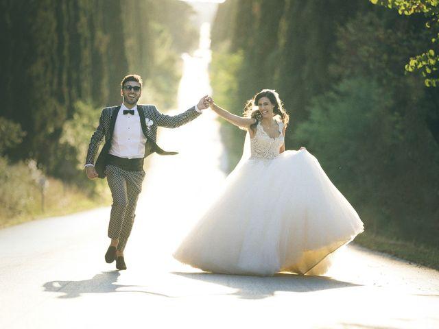 Il matrimonio di Davide e Naima a Bibbona, Livorno 37