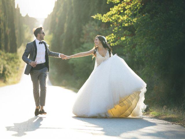 Il matrimonio di Davide e Naima a Bibbona, Livorno 38