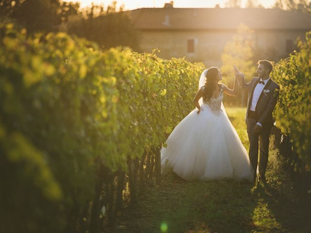 Il matrimonio di Davide e Naima a Bibbona, Livorno 43