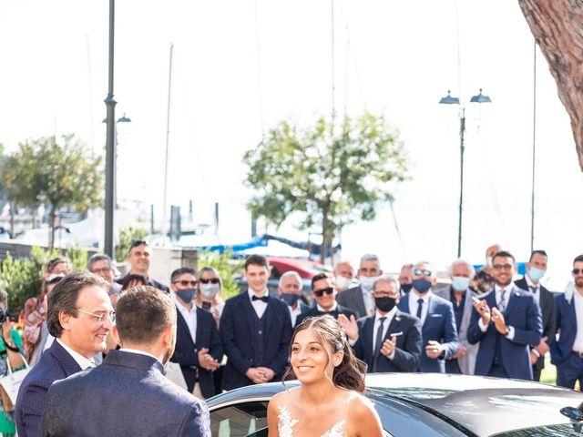 Il matrimonio di Dario e Alessandra a Lonato del Garda, Brescia 17