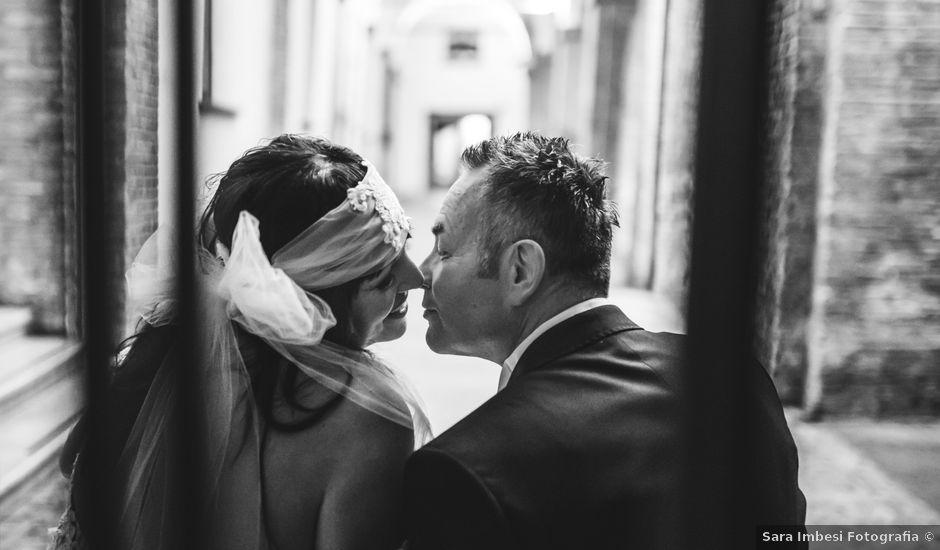 Il matrimonio di Claudio e Romina a Fano, Pesaro - Urbino