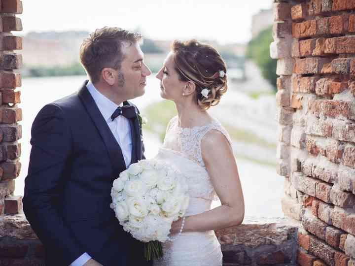 Le nozze di Giorgia e Claudio