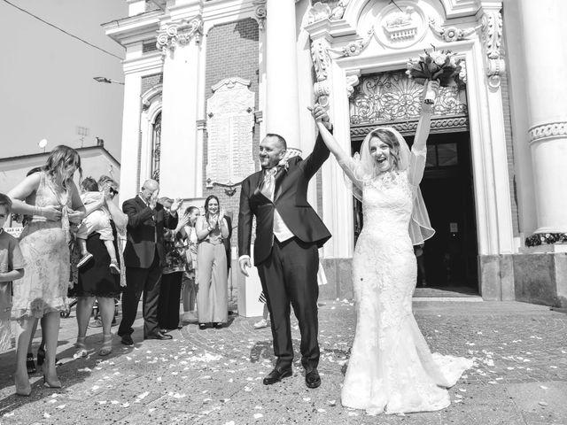 Il matrimonio di Claudio e Lisa a Vignale Monferrato, Alessandria 16