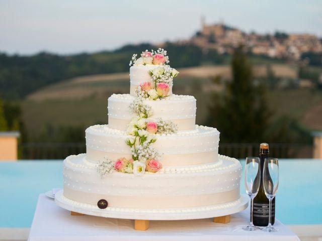 Il matrimonio di Claudio e Lisa a Vignale Monferrato, Alessandria 25
