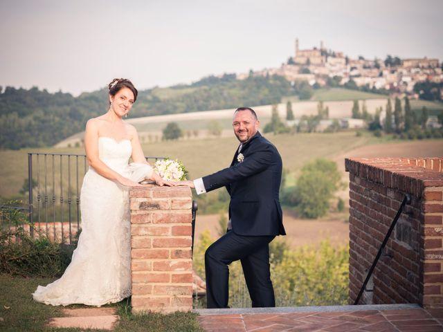 Il matrimonio di Claudio e Lisa a Vignale Monferrato, Alessandria 39