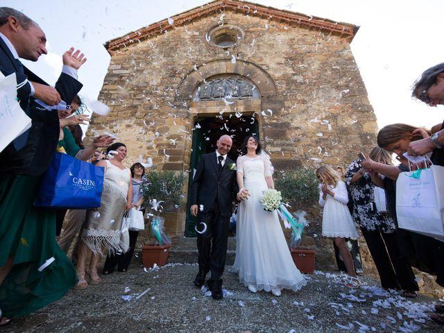Il matrimonio di Gianni e Elisa a Cinigiano, Grosseto 12