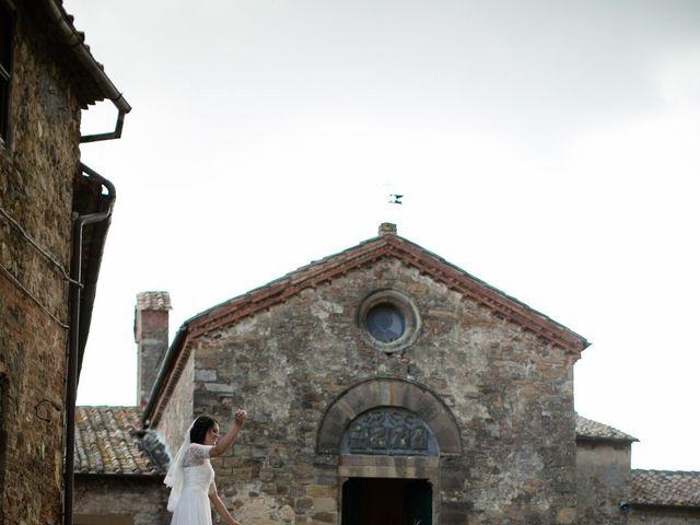 Il matrimonio di Gianni e Elisa a Cinigiano, Grosseto 23