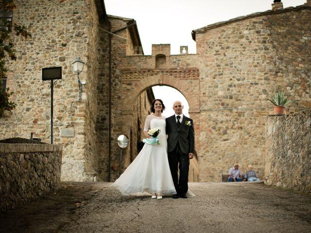 Il matrimonio di Gianni e Elisa a Cinigiano, Grosseto 26