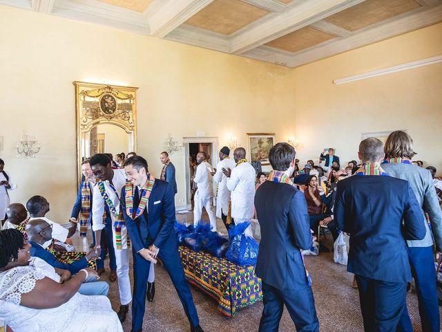 Il matrimonio di Kwame e Anouk a Sestri Levante, Genova 15