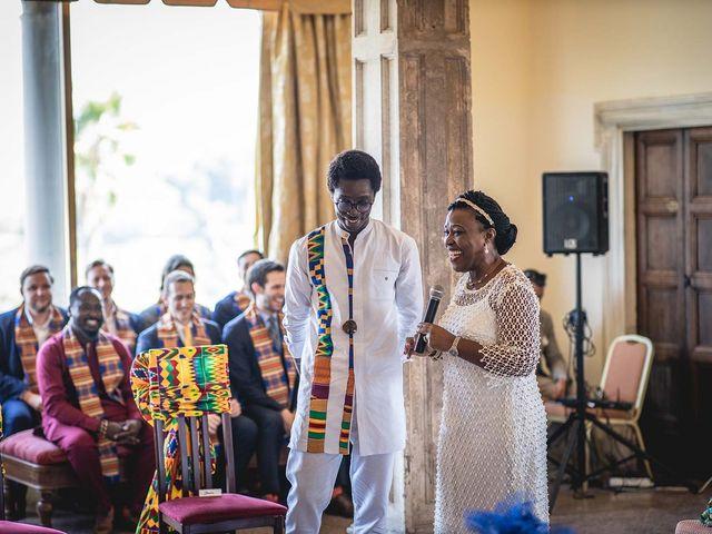 Il matrimonio di Kwame e Anouk a Sestri Levante, Genova 17