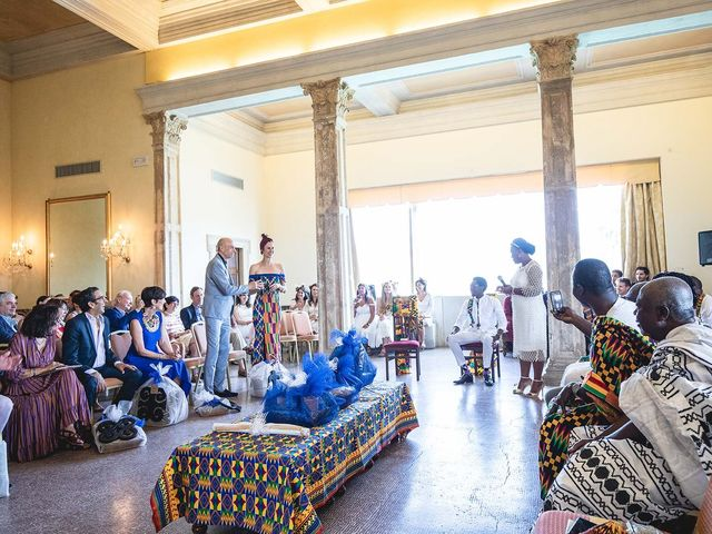 Il matrimonio di Kwame e Anouk a Sestri Levante, Genova 22
