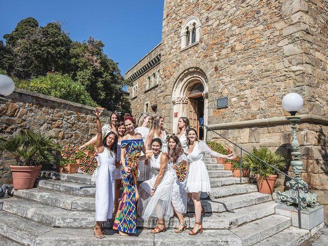 Il matrimonio di Kwame e Anouk a Sestri Levante, Genova 27