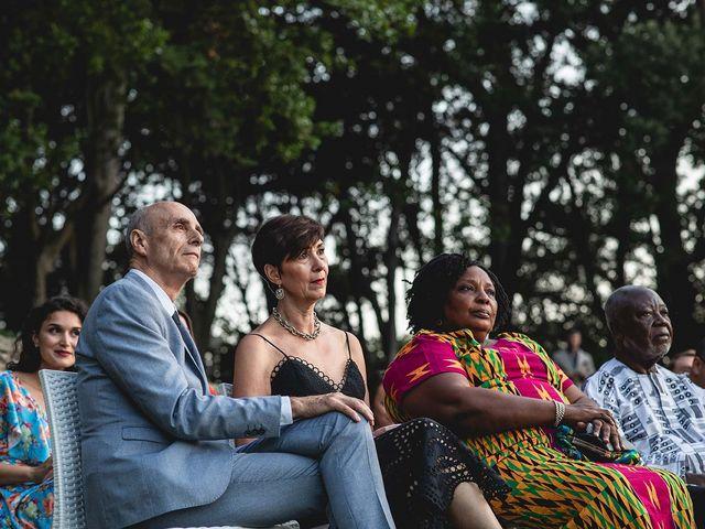 Il matrimonio di Kwame e Anouk a Sestri Levante, Genova 48