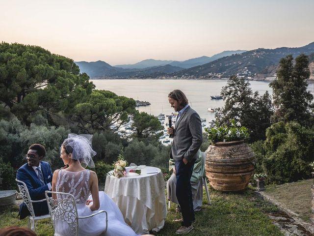 Il matrimonio di Kwame e Anouk a Sestri Levante, Genova 54