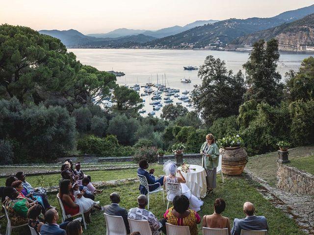 Il matrimonio di Kwame e Anouk a Sestri Levante, Genova 57