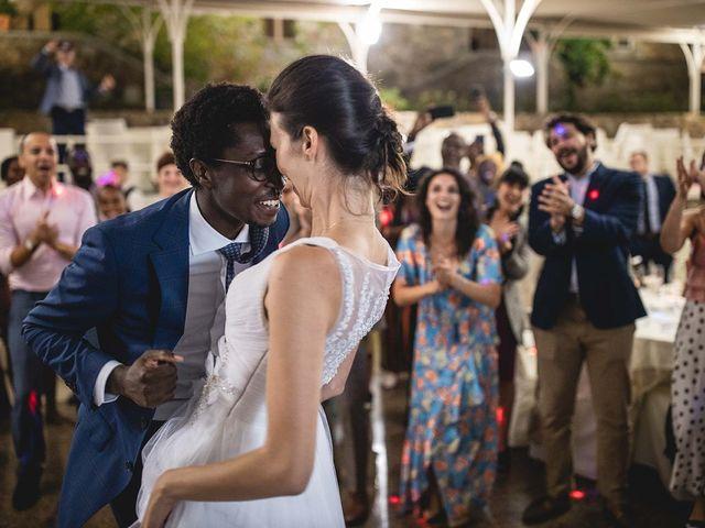 Le nozze di Anouk e Kwame