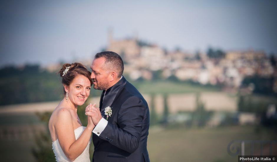 Il matrimonio di Claudio e Lisa a Vignale Monferrato, Alessandria