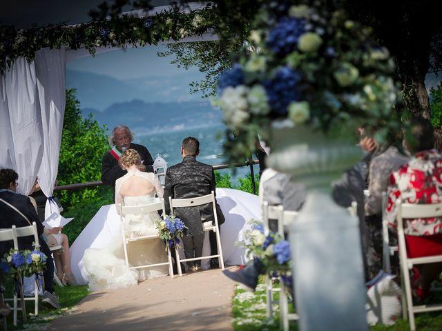 Il matrimonio di Alberto e Tania a Sirmione, Brescia 24