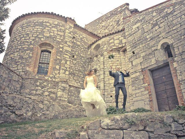 Il matrimonio di Graziano e Jessica a Erbusco, Brescia 347