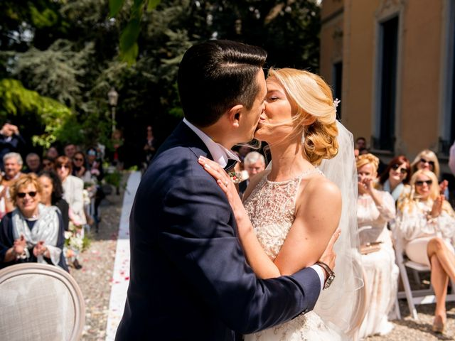 Il matrimonio di Andrea e Inna a Varese, Varese 28