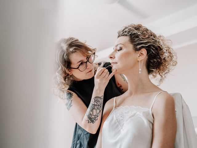 Il matrimonio di Abra e Nik a Malgrate, Lecco 17