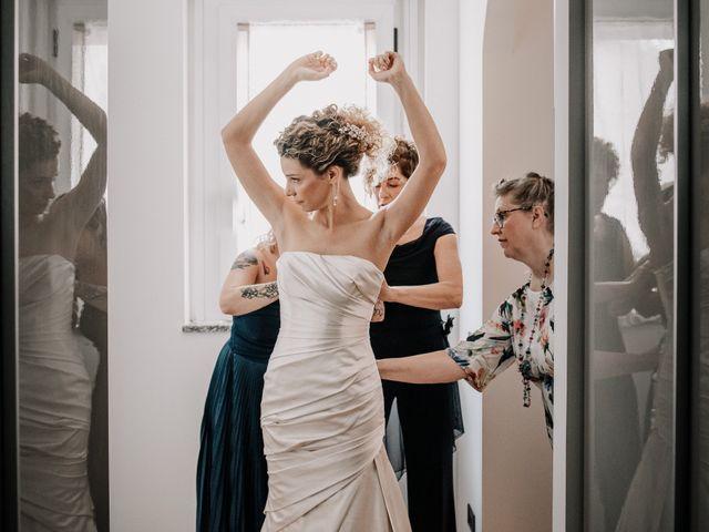 Il matrimonio di Abra e Nik a Malgrate, Lecco 41