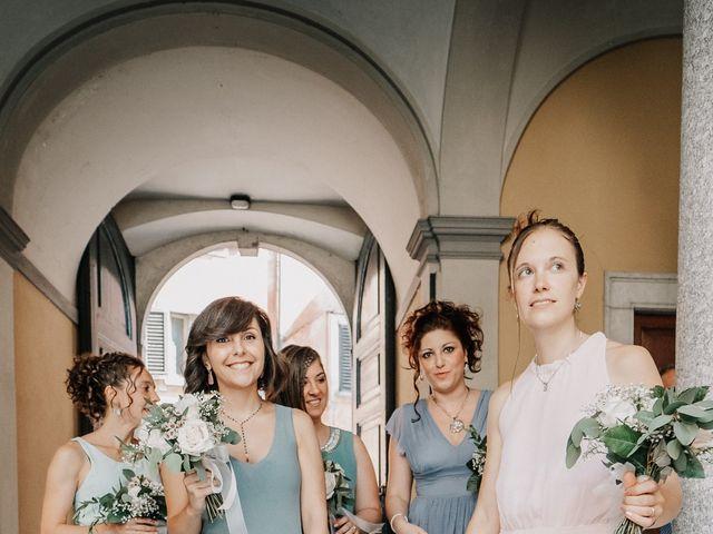 Il matrimonio di Abra e Nik a Malgrate, Lecco 47