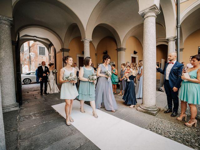 Il matrimonio di Abra e Nik a Malgrate, Lecco 50