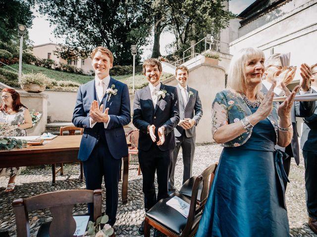 Il matrimonio di Abra e Nik a Malgrate, Lecco 52