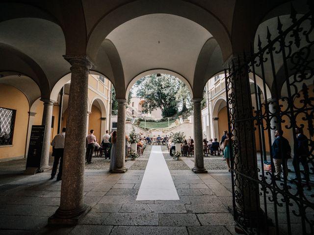 Il matrimonio di Abra e Nik a Malgrate, Lecco 55
