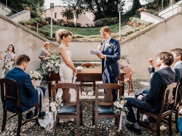 Il matrimonio di Abra e Nik a Malgrate, Lecco 56