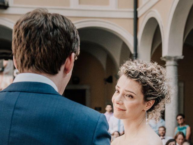 Il matrimonio di Abra e Nik a Malgrate, Lecco 58