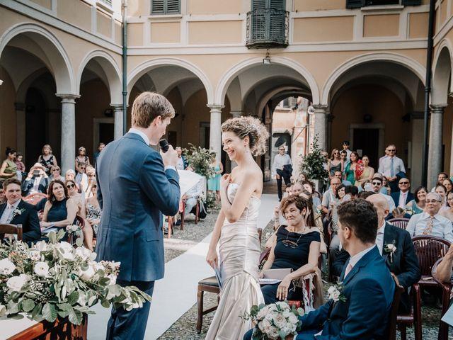 Il matrimonio di Abra e Nik a Malgrate, Lecco 59