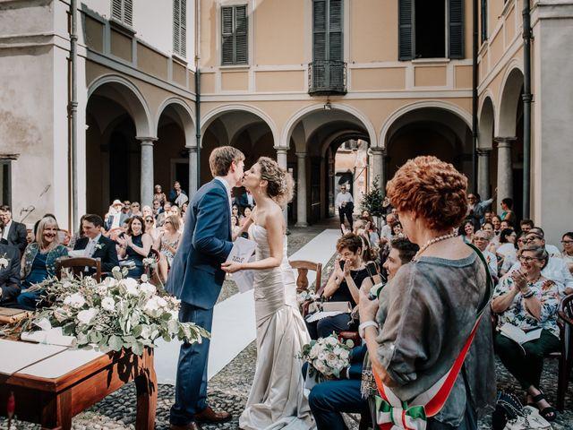 Il matrimonio di Abra e Nik a Malgrate, Lecco 60