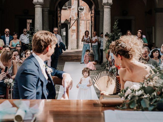 Il matrimonio di Abra e Nik a Malgrate, Lecco 62
