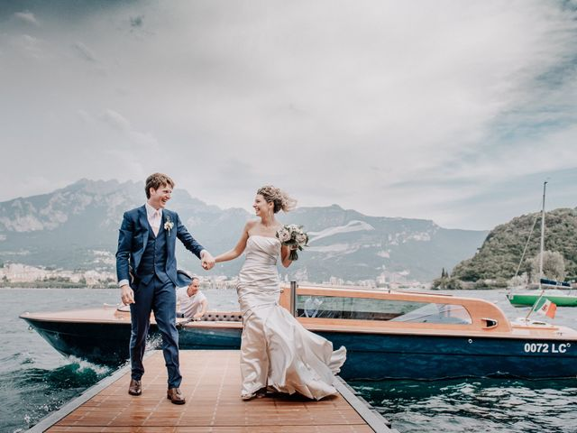 Il matrimonio di Abra e Nik a Malgrate, Lecco 90