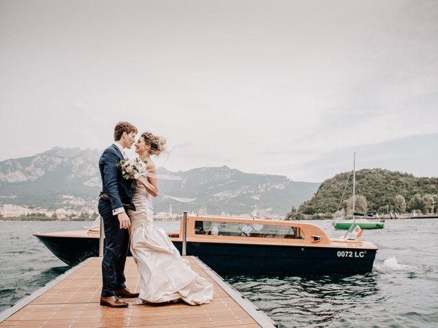 Il matrimonio di Abra e Nik a Malgrate, Lecco 91